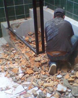 къртене на баня 3