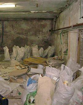 почистване на тавани и мазета 3