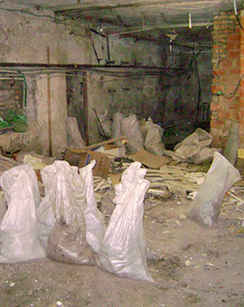 почистване на тавани и мазета 2