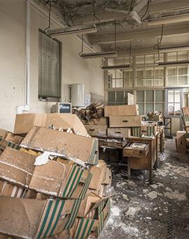почистване на складове