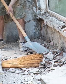 почистване на строителни отпадъци 3
