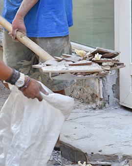 почистване на строителни отпадъци 2