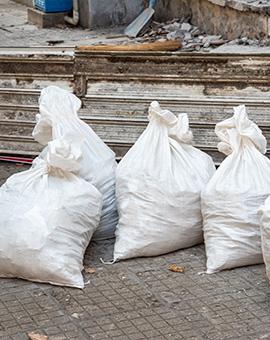 почистване на строителни отпадъци