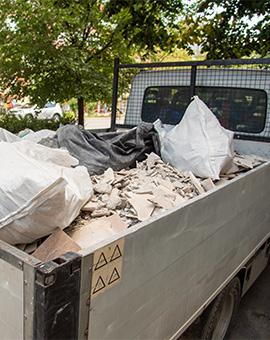 извозване на строителни отпадъци 2